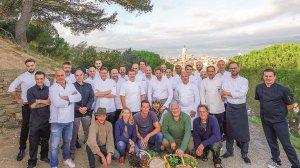 les Chefs à Saint-Tropez fêtent les producteurs