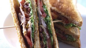 club sandwich au veau