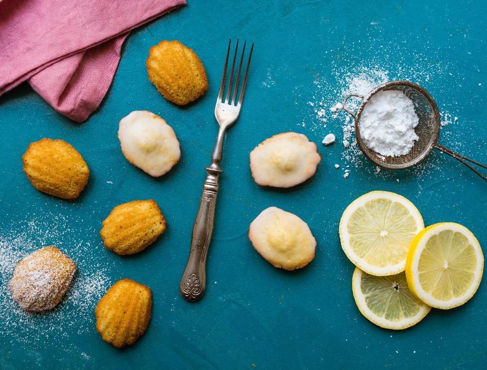 madeleines au citron
