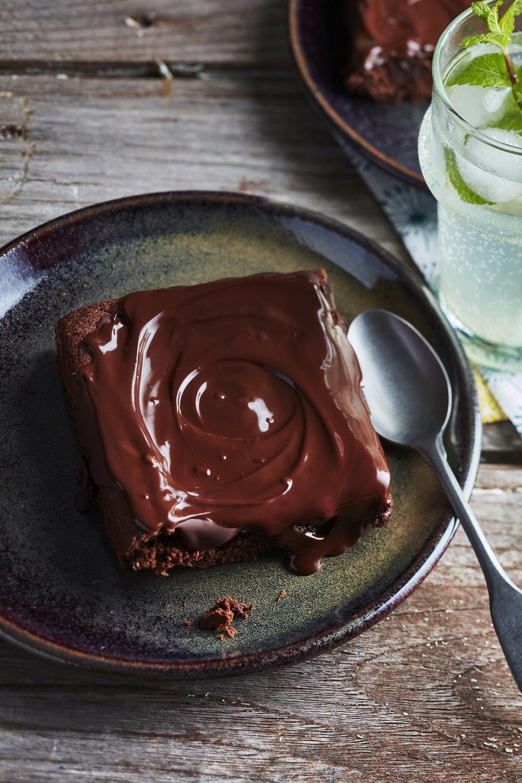 gâteau au chocolat-courgette