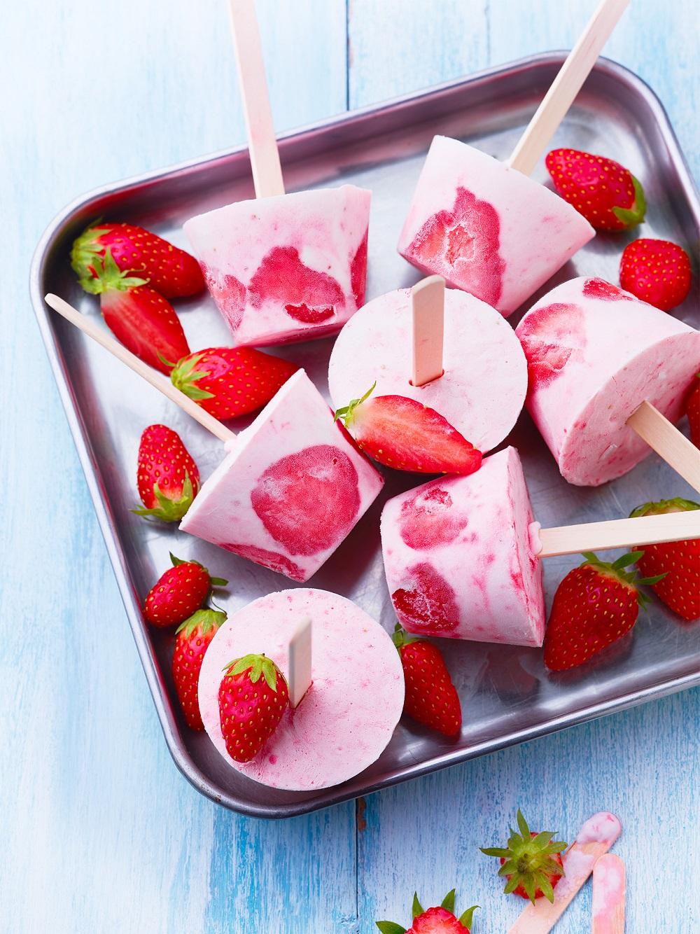 polos à la fraise