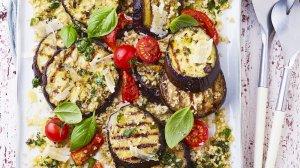 aubergines grillées à l'italienne