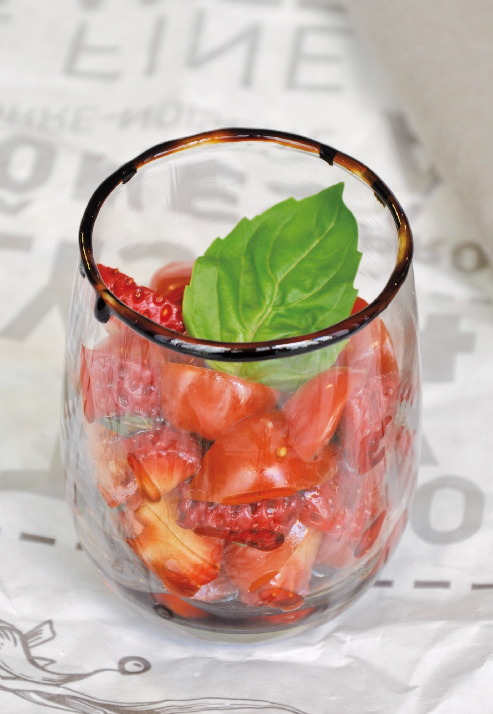 tartares tomates-fraises