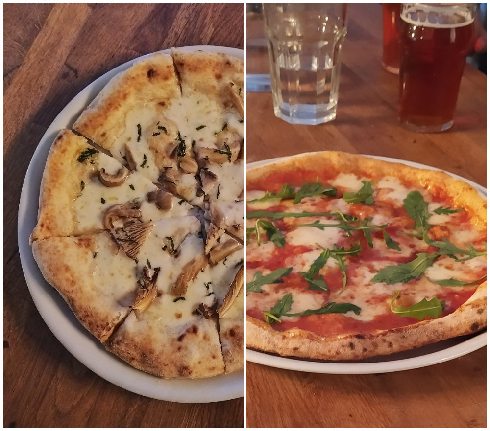 Cyril Verde pizzas