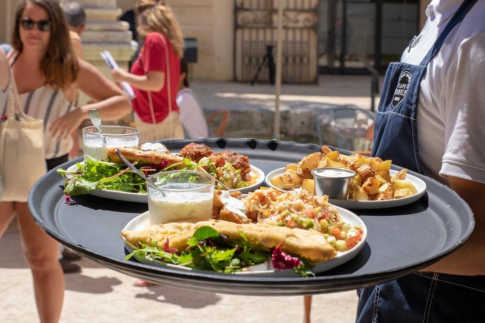Refugee food festival