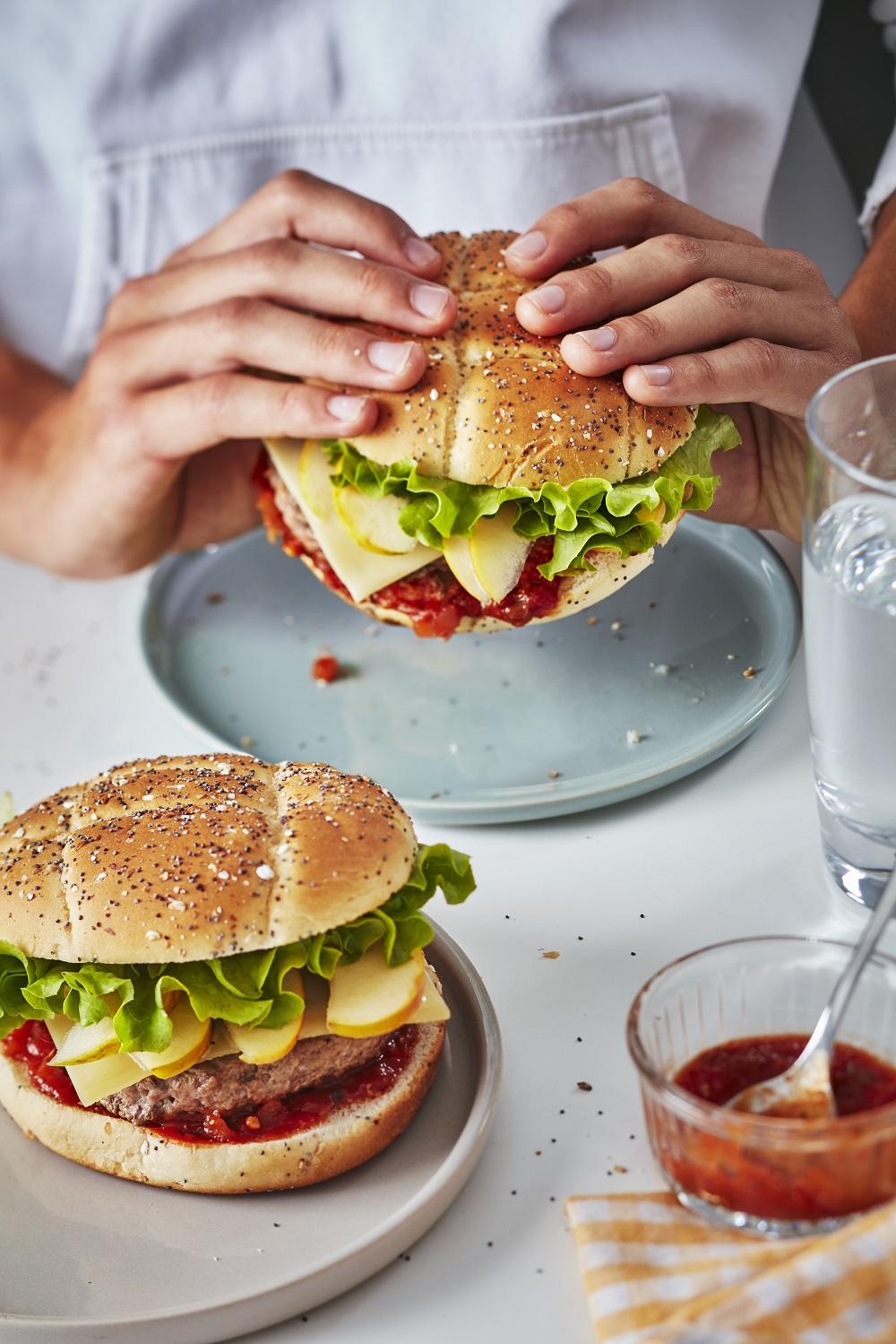 burger sucré-salé