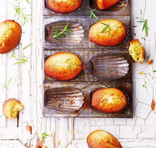 madeleines salées
