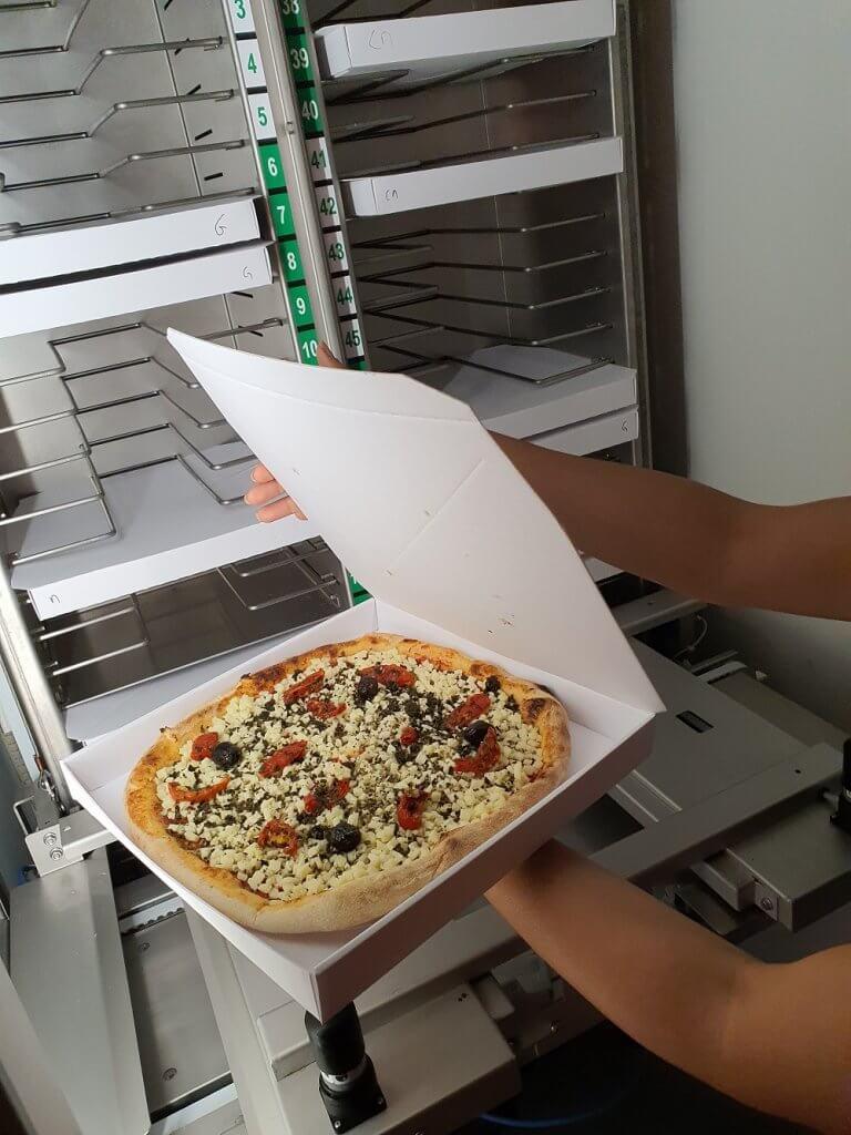 robots pizzaiolo