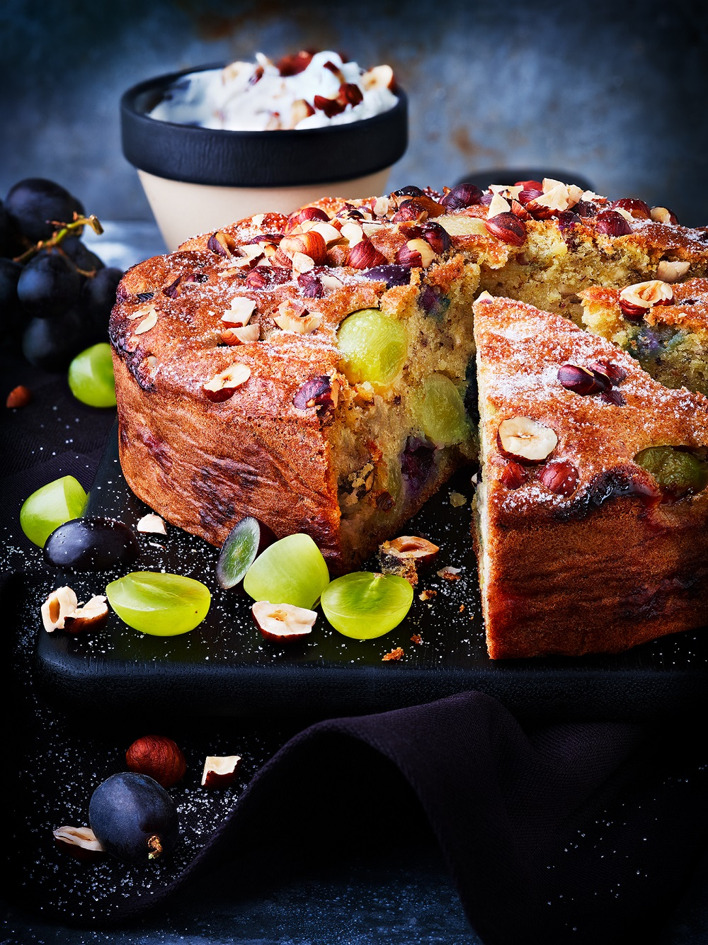 gâteau en automne