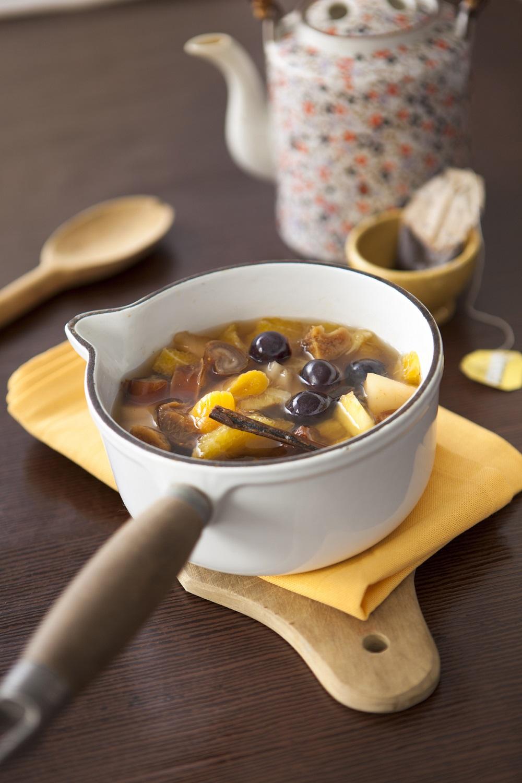 minestrone de fruits
